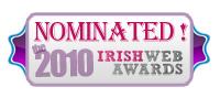 Irish Web Awards 2010 Nominated Site